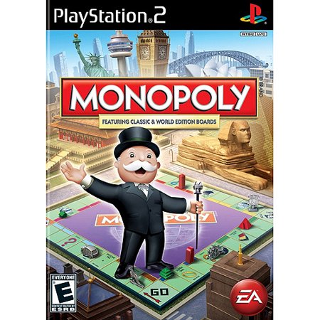 Monopoly Here & Now Worldwide Edition PS2 (Best Games On Playstation Now)