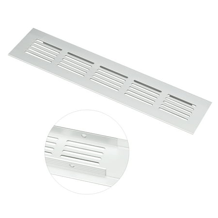 200mmx50mm, Ventilation Grille, Aluminum Alloy Air Vent Louvered Grill Cover