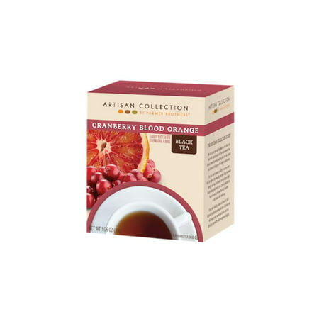 Artisan Cranberry Blood Orange Black Tea, 1/15 ct box