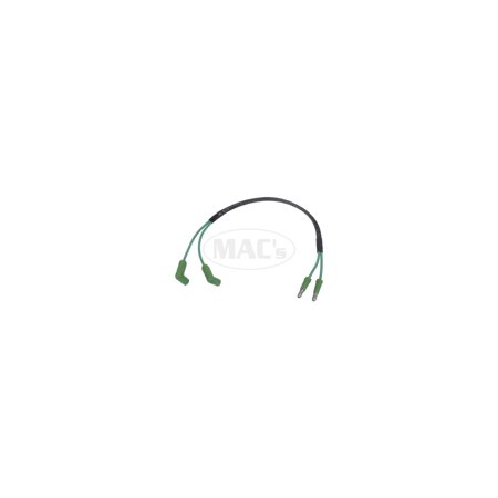MACs Auto Parts  49-29565 Stop Light Switch Wire - 12 - Switch Extension Wire - Use With Power Brakes - Ford