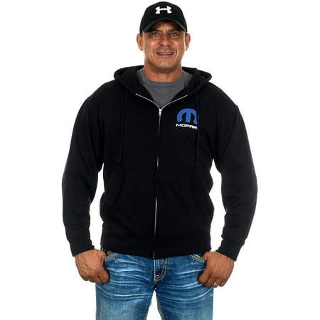 Logo Zip Hoody Sweatshirts - Men's MOPAR Logo Zip Up Hoodie