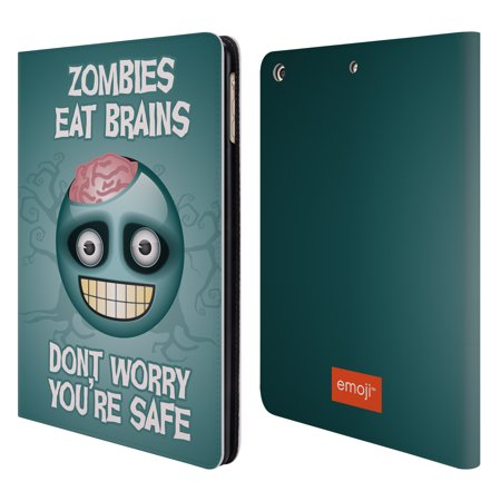 OFFICIAL EMOJI HALLOWEEN PARODIES LEATHER BOOK WALLET CASE COVER FOR APPLE IPAD for $<!---->