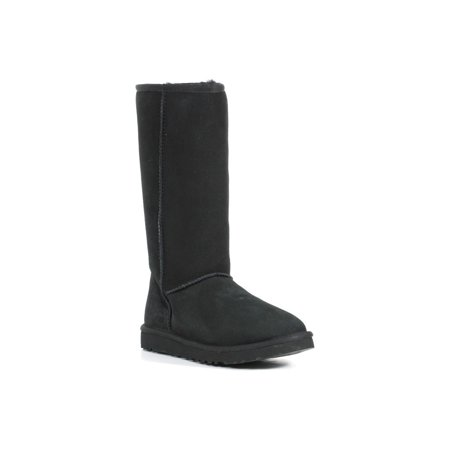 UGG Australia Women's Classic Tall Calf Height Sheepskin Black Boot (Size - Ugg Size Chart