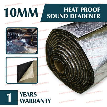 Automotive Sound Deadener Heat Insulation Deadening Material Proof Mat, 55'' x 39'' - image 6 of 6