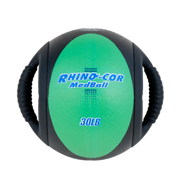 30lb Rhino-Cor Medicine Ball by Champion Sports