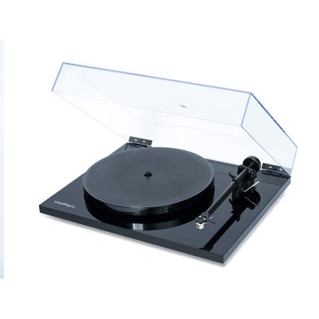 Flexson VinylPlay Black Turntable with integrated analogue-to-digital by Flexson