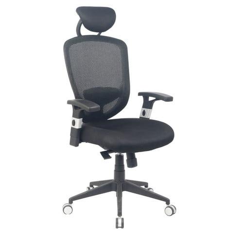 Viva Office Ergonomic HighBack Mesh Task Chair with Headrest