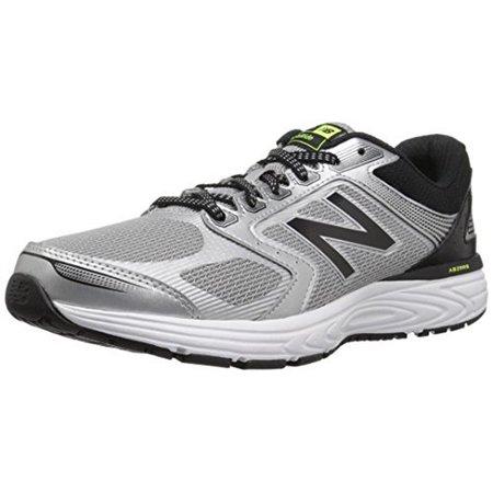 New Balance Mens 560v7 Cushioning Running, Silver/Black