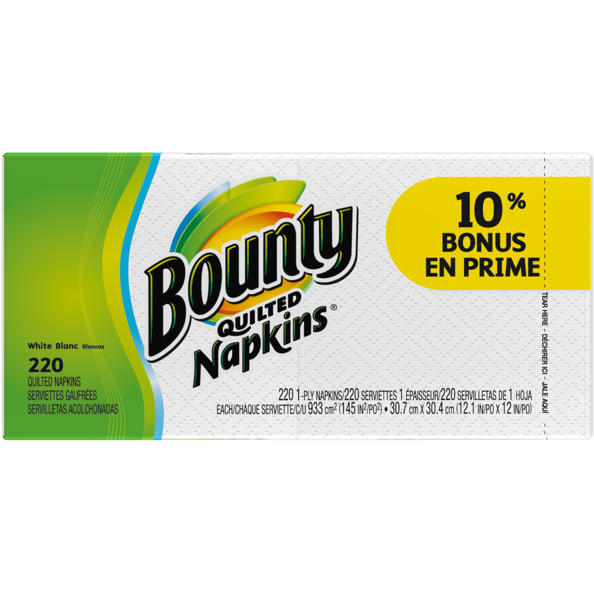 Bounty Quilted Napkins, 220 ct