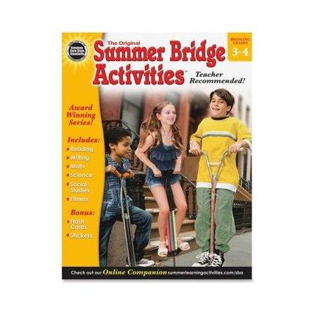 Summer Bridge Activities Workbook Activity Printed Book - English CDP904159