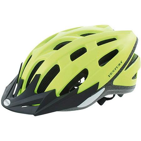 Ventura Safety Neon Yellow Bike Helmet, Adult (58-61cm) (Bern Yellow Helmet)