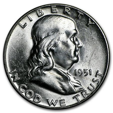 - 1951 Franklin Half Dollar BU