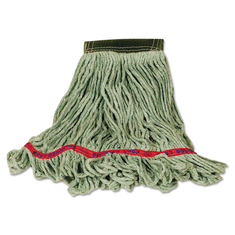 Super Stitch Blend Mop, Cotton/synthetic, Small, Green
