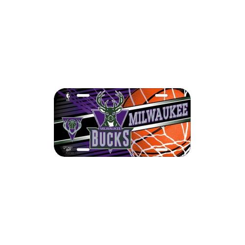 Milwaukee Bucks License Plate