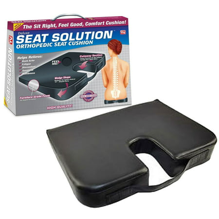 Deluxe Seat Solution Orthopedic Seat Cushion ()