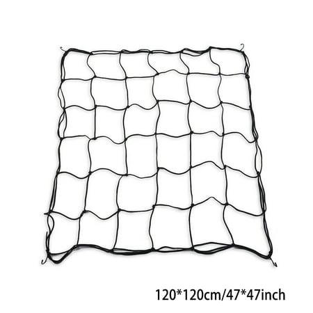 Flexible Net Trellis Elastic Trellis Netting with 4 Steel Hooks for Grow Tents Garden - image 1 de 1