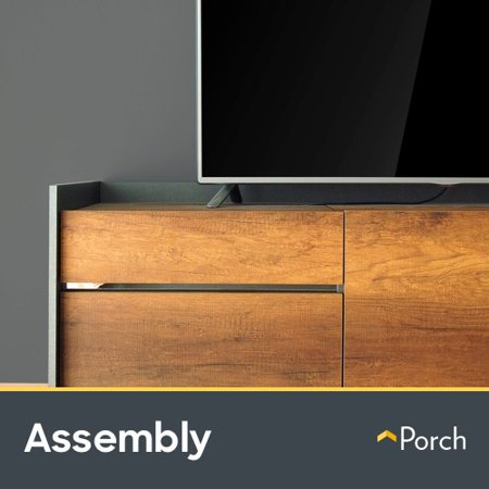 TV Stand Assembly by Porch Home Services (Condenser Assembly)