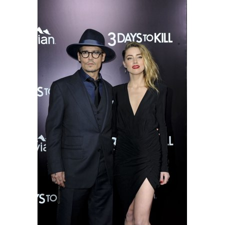 Johnny Depp Amber Heard At Arrivals For 3 Days To Kill Premiere Arclight Cinemas Los Angeles Ca February 12 2014 Photo By Elizabeth GoodenoughEverett Collection Celebrity - Amber Heard Halloween