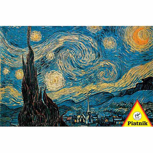 Van Gogh Starry Night Jigsaw Puzzle, 1000 Pieces by Piatnik