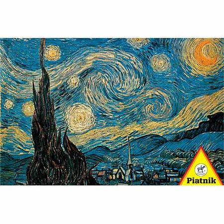 Van Gogh Starry Night Jigsaw Puzzle, 1000 Pieces