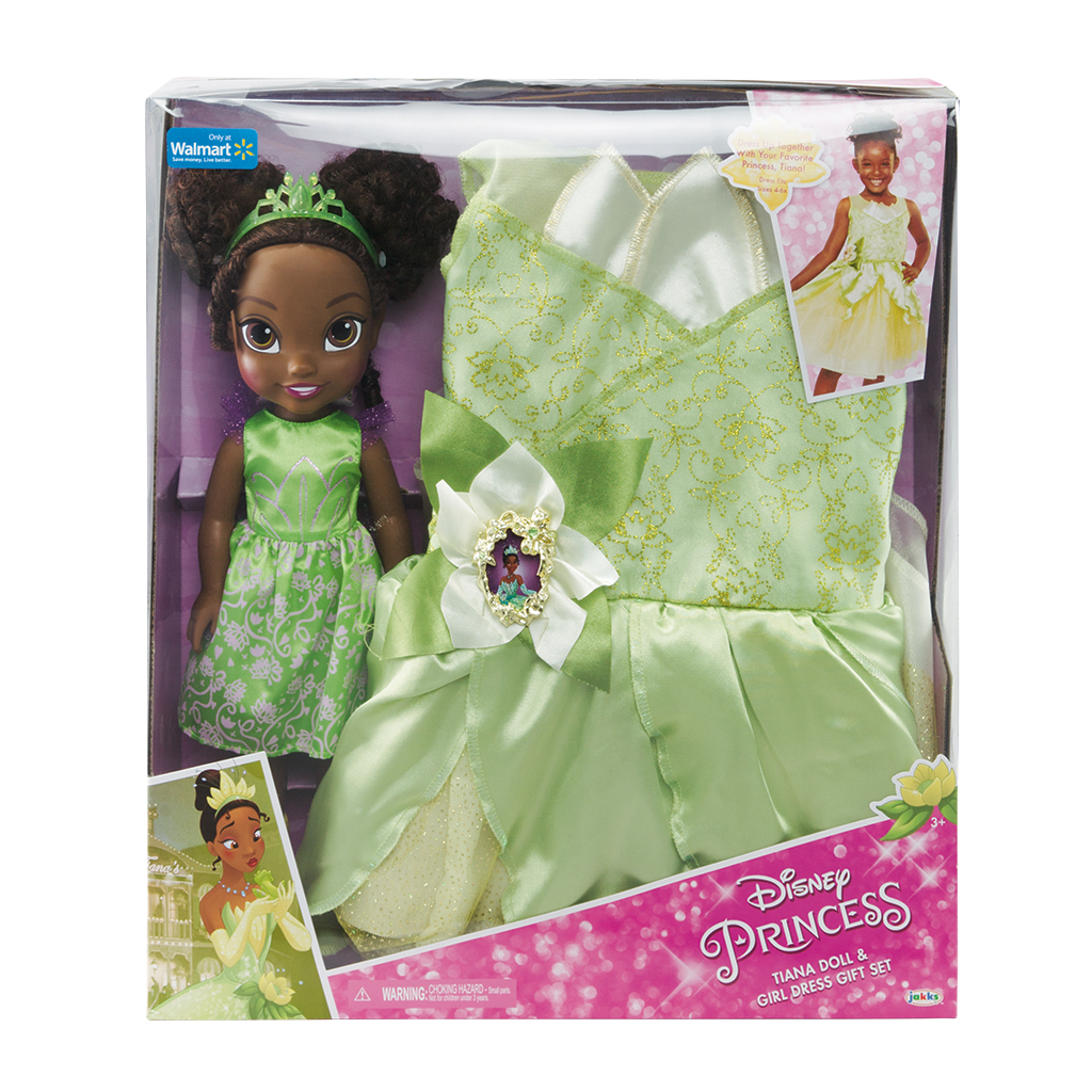 Disney Princess Tiana Toddler Doll and Dress