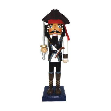 Santa's Workshop Johny Pirate Nutcracker