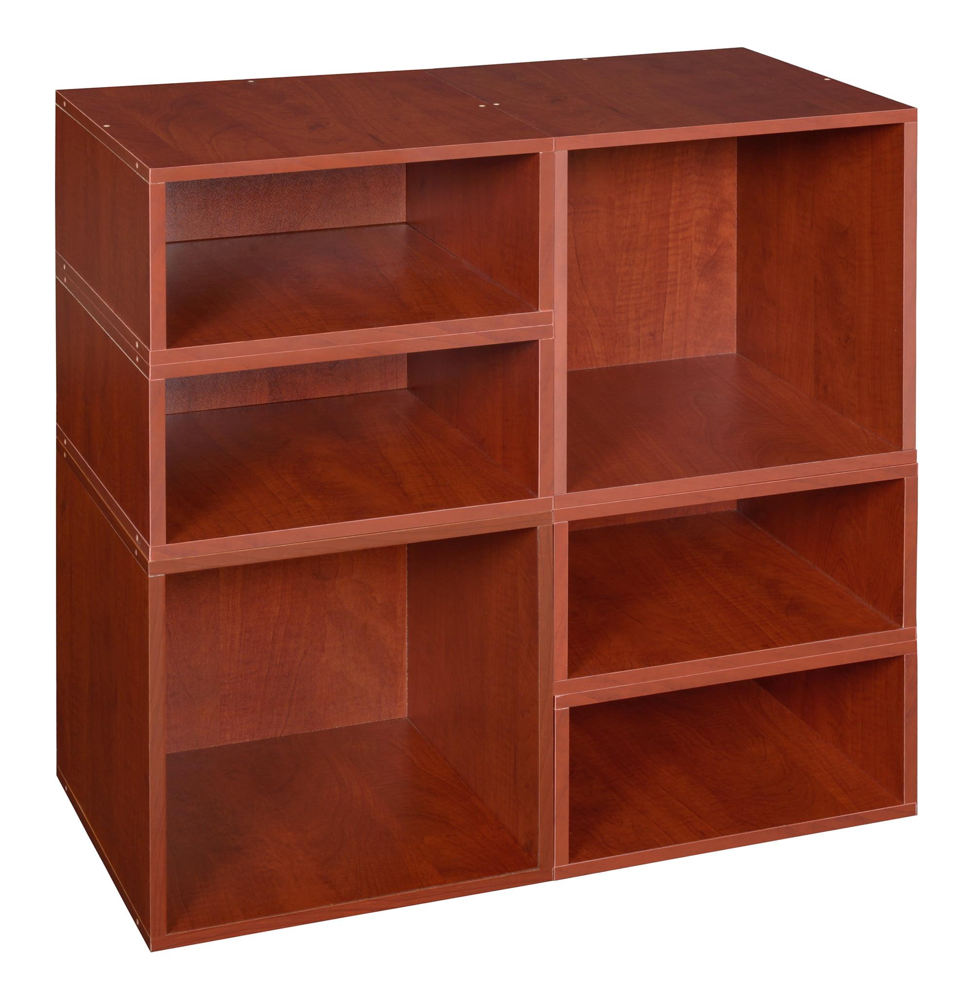 Niche Cubo Storage Set- 2 Full Cubes/4 Half Cubes- Cherry