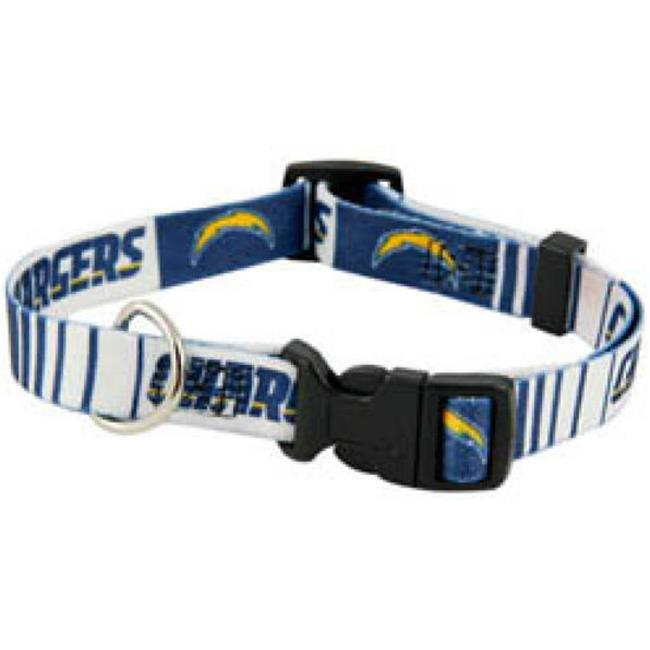 DoggieNation 716298230349 Small San Diego Chargers Dog Collar
