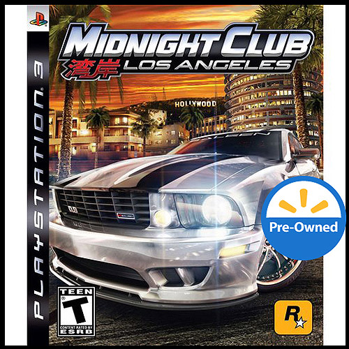 Midnight Club Los Angeles (Pre-Owned), Rockstar Games, PlayStation 3, 886162471915
