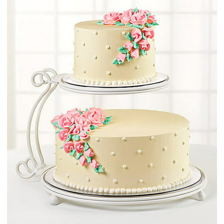 Wilton 2 Tier Floating Cake Stand