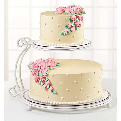 floating wedding cake stand wilton 2 tier floating cake stand walmart 14322