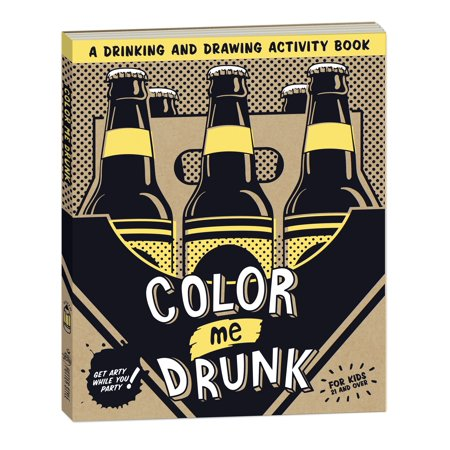 Color Me Drunk : A Drinking and Drawing Activity Book](Halloween Activity Near Me)