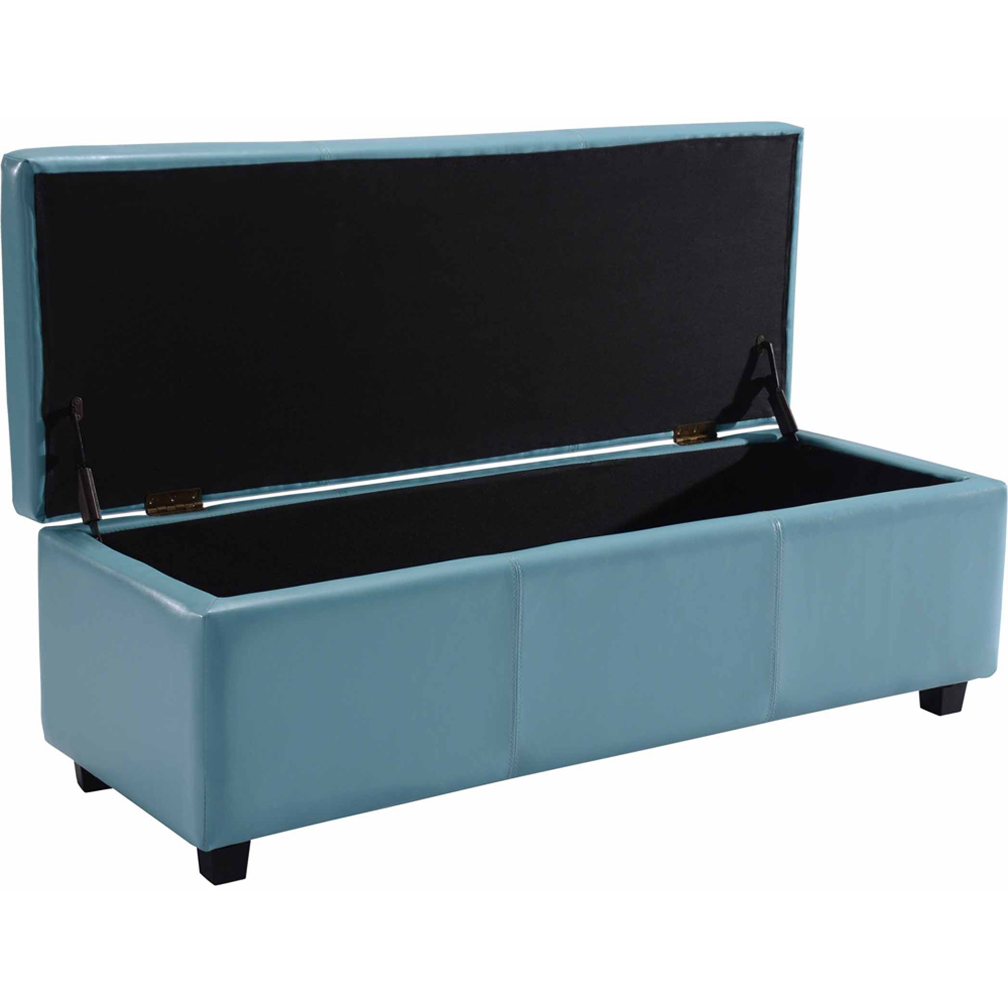 Simpli Home Avalon Large Storage Ottoman Bench - Walmart.com