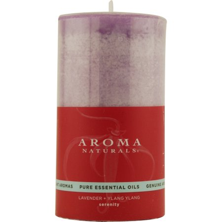 Serenity Aromatherapy 5732940 By Serenity Aromatherapy One 2.75 X 5 Inch Pillar Aromatherapy Candle. Combines The Essential Oils Of Lavender And Ylang Ylang To Enhance Inner Balance And Well-being. Bu