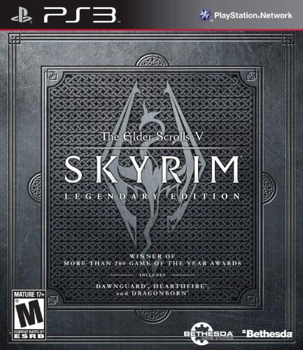 Skyrim Legendary Edition (Playstation 3) by Bethesda Game Studio