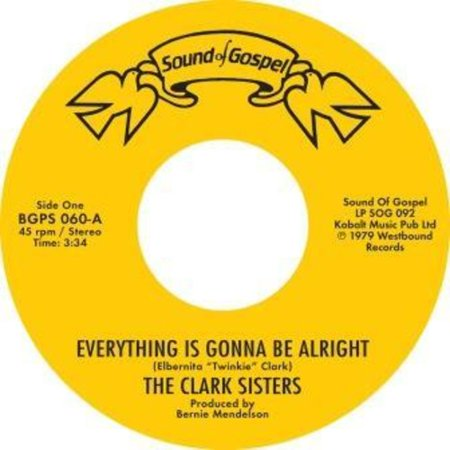 Everything Is Gonna Be Alright / You Brought The Sunshine (Into MyLife) (Vinyl)