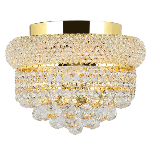 Worldwide Lighting Empire 4 Light Flush Mount