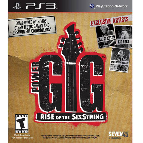 Power Gig: Rise Of The Six String Game Only (PS3) - Pre-Owned