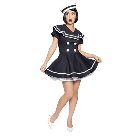 // Pin-Up Captain Costume// (40's Pin Up Costumes)