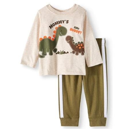 c03e7873de3f Garanimals - Garanimals Long Sleeve Graphic T-Shirt   Jersey Taped ...