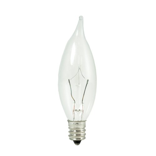 Bulbrite Industries E12 Dimmable Krypton Candle Light Bulb Set Of