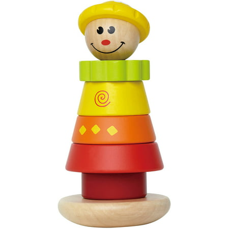 Wooden Toy Rings - Hape Stacking Jill