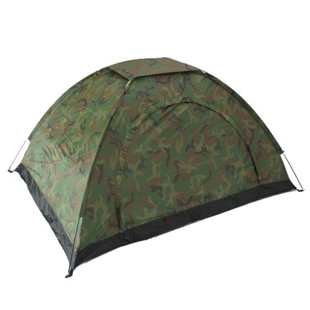 Camo Outdoor Camping Waterproof 2 Person Folding Tent Camouflage Hiking