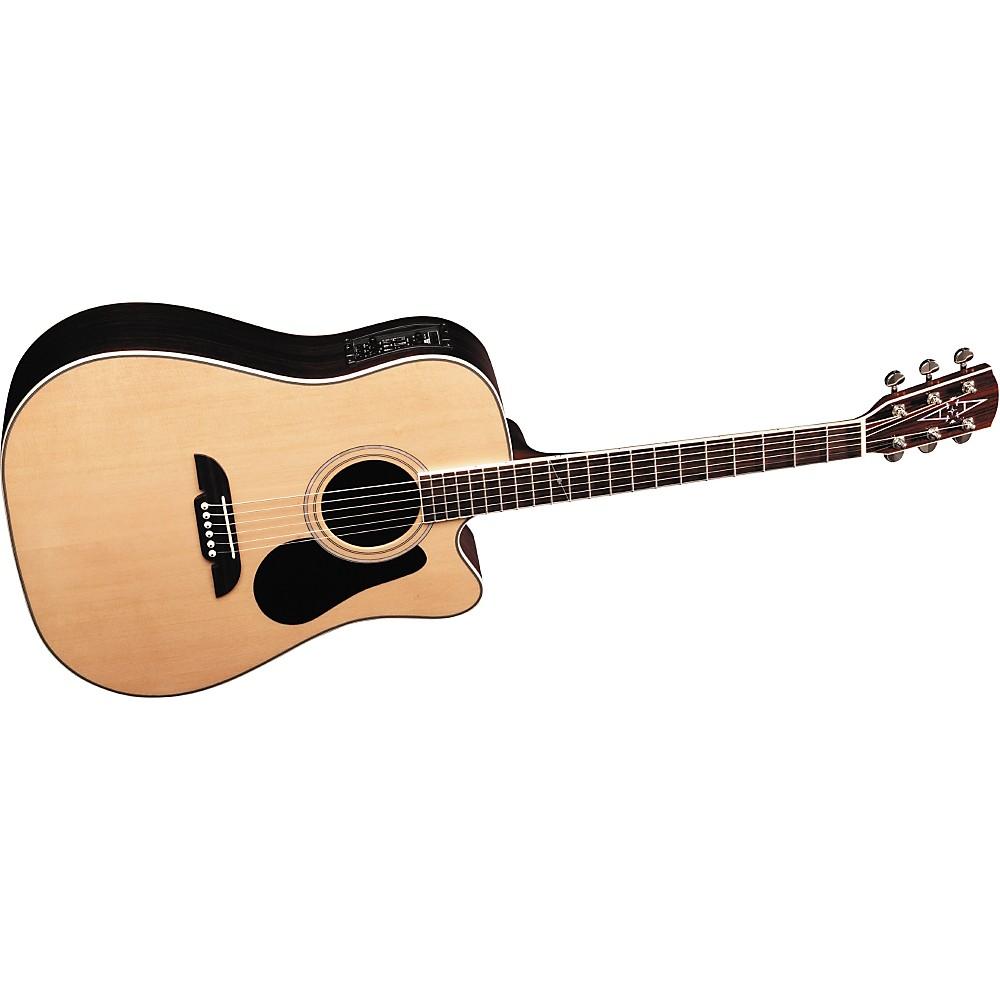 Alvarez Ad70Sc Acoustic Electric Guitar alvarez artist series ad70sc dreadnought acoustic-electric cutaway natural  - walmart