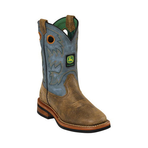 Infant John Deere Boots Johnny Popper 2317 by Johnny Popper