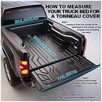 Toyota Tacoma Double Cab 5ft Short Bed Tri Fold Tonneau Cover Walmart Com Walmart Com