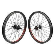 Wheel Masters 20 Inch Aly BMX 20in SET 31 B/O 3/8 - B/O 14mm Blk NMSW Alienation Vandal BkOps MX-3100