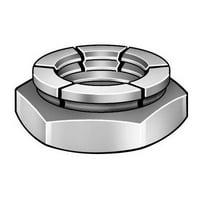 FLEXLOC Lock Nut,3/8-16,Steel,Cadmium,PK100 217180-PG
