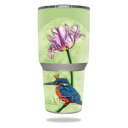 Skin For YETI 30 oz Tumbler - King Fisher | MightySkins Protective, Durable, and Unique Vinyl Decal wrap cover | Easy To Apply, Remove, and Change Styles ()