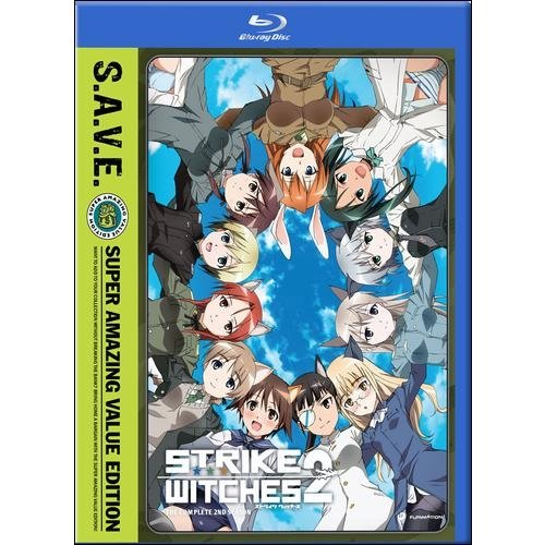 Strike Witches: The Complete Second Season (S.A.V.E.) (Blu-ray) FMABRFN01198